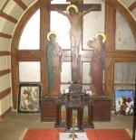 الآثار والتحف داخل الكنيسة الأرثوذكسية اليونانية في القاهرة