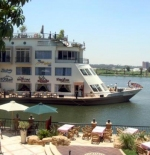 Restaurant in River bank of Cairo