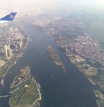 نهر النيل من الهواء