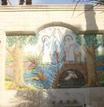 Old Cairo – hanging church mosaics