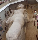 Colossal statue of Ramses II