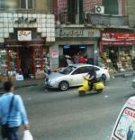 comercios en el centro del Cairo