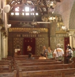 Coptic Cairo inside the church