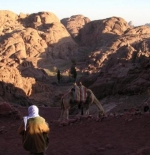 الطريق الى جبل موسى