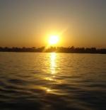 غروب الشمس في شرم الشيخ