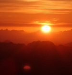 شروق الشمس في شرم الشيخ