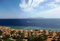 View of the Red Sea & Tiran Island