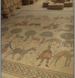 Mosaics from Church of Moses