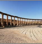 Roman Cardo in Jerash