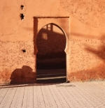 Doorway into Marrakech