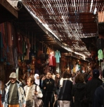 A market city of Marrakech