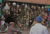 بائع المصابيح في مراكش