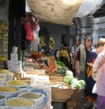the market in Tetuan
