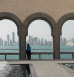 جانب من مدينة الدوحة