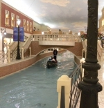 Canal inside the Villagio Mall