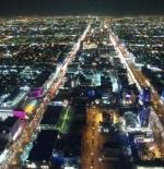 مدينة الرياض من الأعلى ليلا