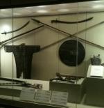 أدوات الحرب القديمة بإحدى متاحف الرياض