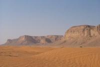 وسط صحراء الرياض