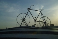 The field of the bicycle in the city of Jeddah