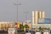 The main Souks road