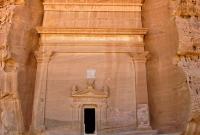 One of the massive façade of a tomb at Qasr al-Bint