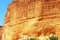 Sandstone mountain in Ula