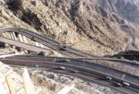طريق جبلي ضخم هو طريق جبل كرا