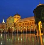 الغسق في المسجد الأموي