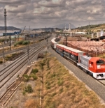 القطار في تونس