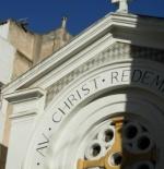 الكنيسة في شارع شارل دي في تونس