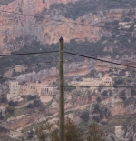 Mountainside monastery