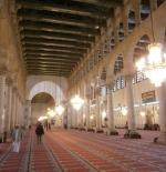 Inside the Umayyad Mosque