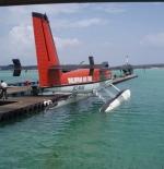 الطائرة المائية في المالديف