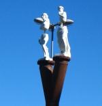 تماثيل مجزأة