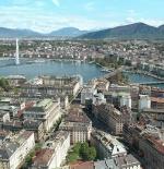 منظر عام لمدينة جنيف