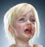 صورة اطفال يبكون
