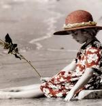 صورة طفلة البحر