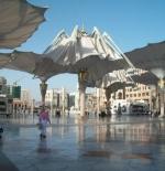 مظلات الحرم الشريف