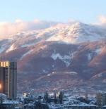 منظر عام لجبال فيتوشا