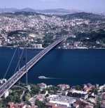 الجسر الرابط بين الضفتين الآسيويه والأوروبيه