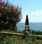 منظر للبحر الأسود من قصر فورونتسوفسكى