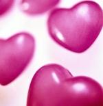 صورة القلوب الوردية
