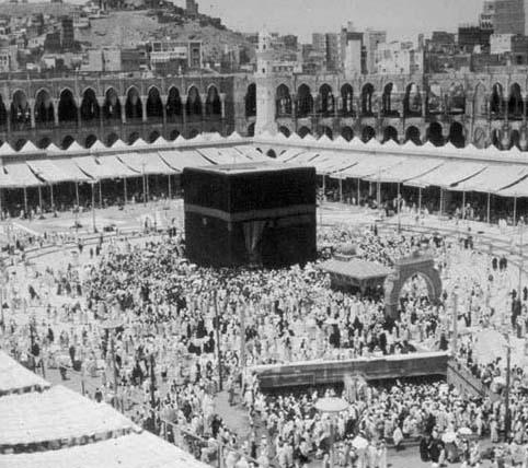 صورة لمكة قديماً