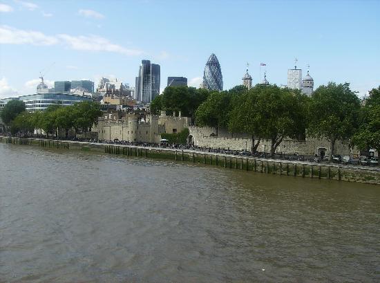 المباني الحديثة في لندن